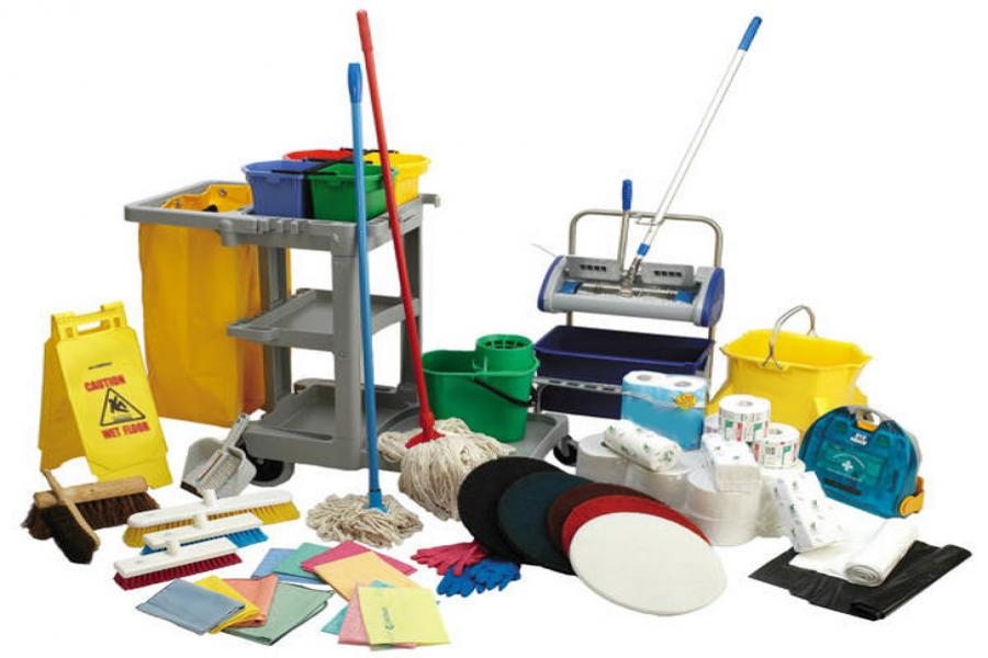 materiali di pulizia